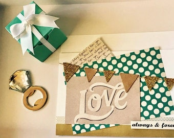 Breakfast at Tiffany's inspired* boxes with gift favors (SAMPLE)