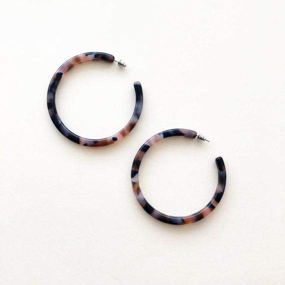 Xl Hoops In Fortune by Etsy