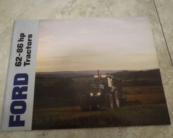 Ford 62-86 HP Tractor Literature