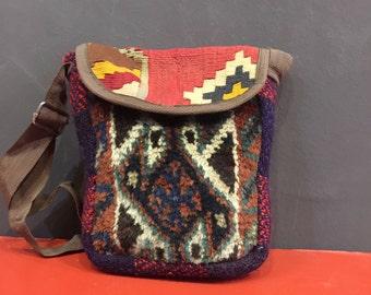 Gashgai Persian Vintage Kilim Bag