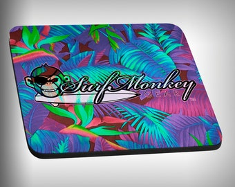 Hawaiiin Print Mouse Pad Custom Graphic Novelty Mousepad Great Gift Customized Personalized