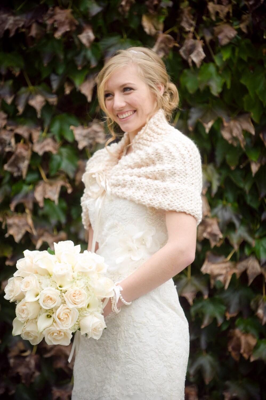 Wedding Shawl Cape Bridal Fall Summer
