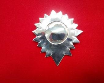 Sterling silver pendant/brooch