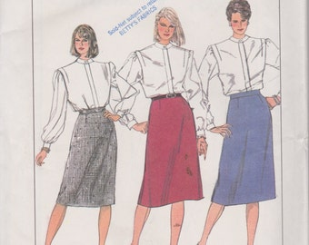 Simplicity 7668 Misses' Skirts Size 12 Vintage UNCUT Pattern Rare and OOP