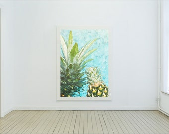 Graphic Pineapple Print | EclecticByErica