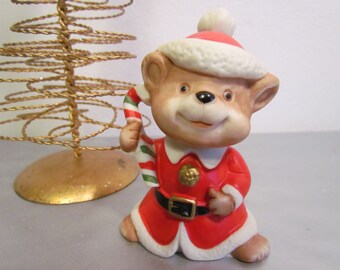 vintage homco christmas mouse xmas decorations ornaments figurines home decor decorating - Christmas Mice Decorations