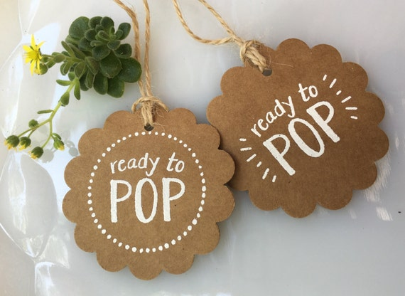 Set Of 20 Handmade Ready To Pop Baby Shower Party Favor
