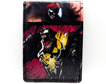Venom Wallet, Comic Book Wallet, Venom