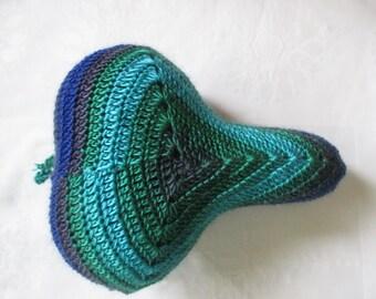 Saddle Cover Saddle-saver saddle upholstery handmade Crochet