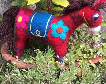 Handfelted Wool Horse