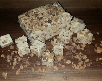Chocolate and Toffee Fudge Half Pound
