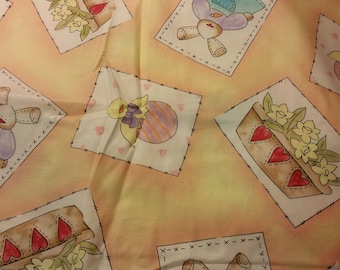 spring and easter print fabric