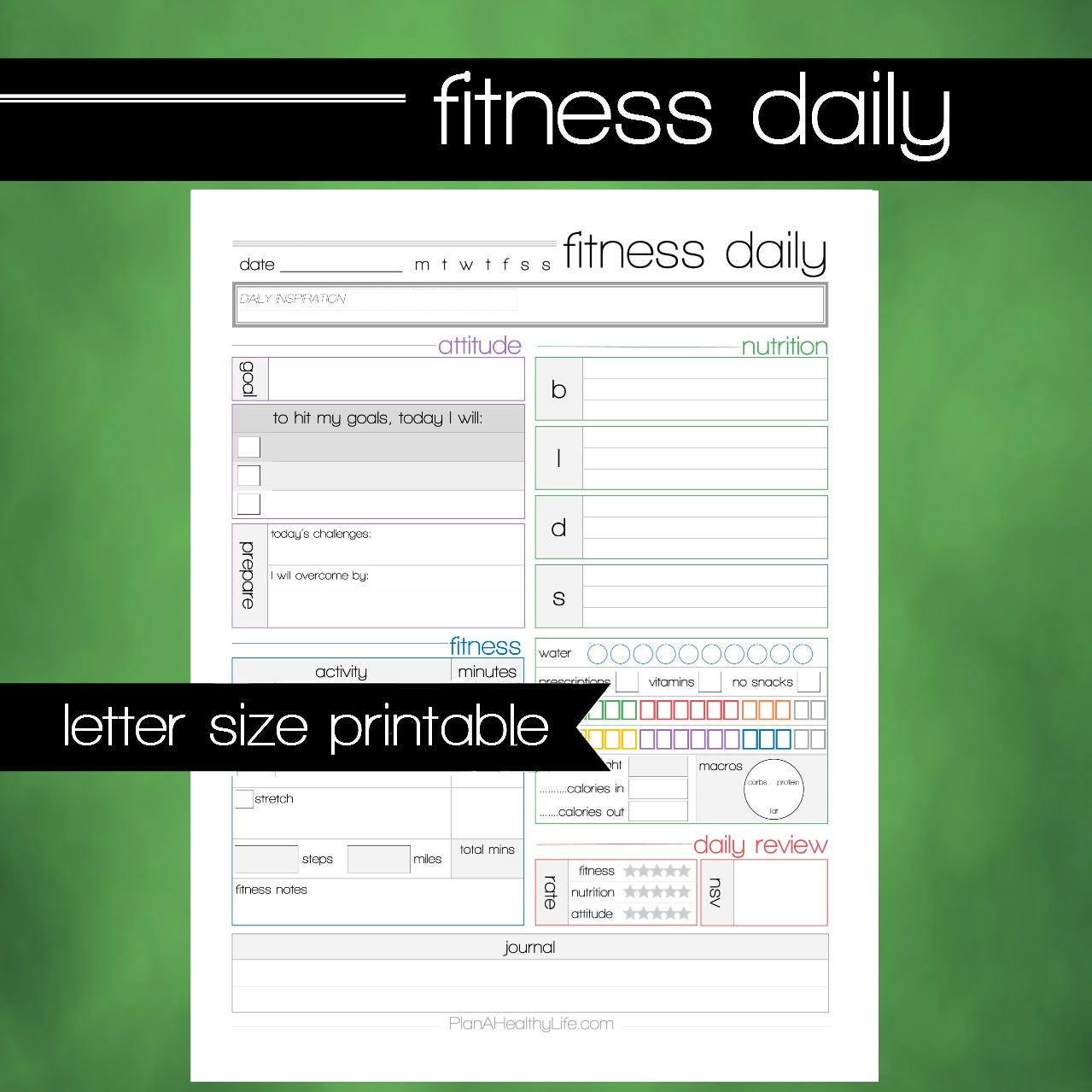 workout log download
