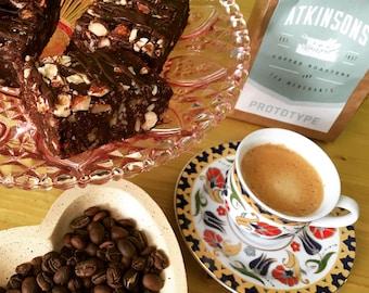 Hazelnut & Espresso Raw Fudge Brownies X 6