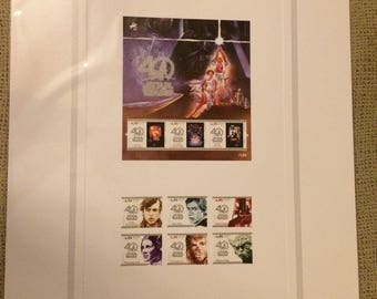 Star wars 40th Aniversary Stamps - LIMITED EDITION - PORTUGAL