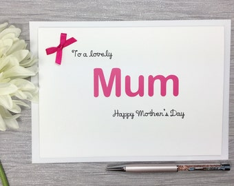 Mother's Day Card - Card For Mum - Card For Mom - Card For Mama - Card For Mummy - Mothers Day - Mum Card - Happy Mother's Day - Mummy Card