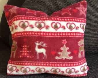 Warm pillow Christmas, winter, gift idea, handmade Germany
