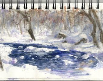 A Little Winter Stream
