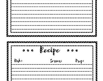 Recipe Card | Instant Download