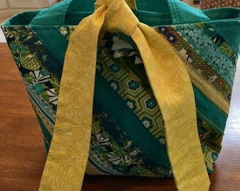 Turquoise Selvage Sacque