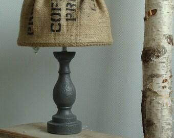 Table Lamp original Koffiezak/Concrete