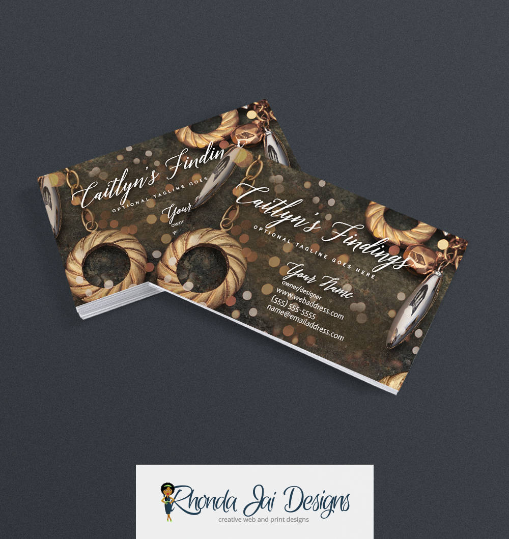 Business Cards - Jewelry Business Card Design - Business Cards For ...