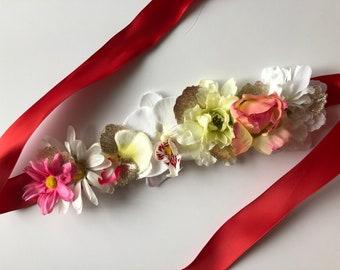 Summer Dreams Flower Crown, Floral Crown, Festival Crown