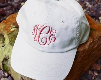 Monogram Baseball Hat, Monogrammed Baseball Cap, Monogrammed Cotton Cap, Womens Hat, Monogram Cap