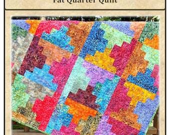 PDF Quilt Pattern Graceful Steps Carlene Westberg Designs Fat Quarter Quilt
