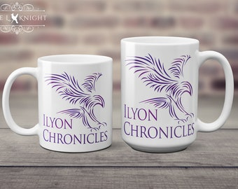 Ilyon Chronicles Purple Hawk Coffee Mug