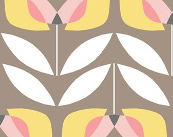 Organic Cotton Fabric - Monaluna Haven - Tulip