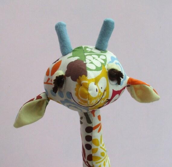 Gemini Kuscheltier Giraffe Schnittmuster 18 Zoll 45 cm