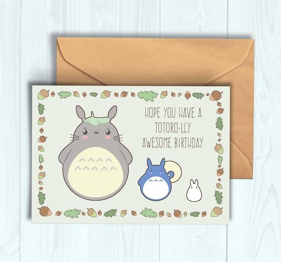 Totoro birthday card bookmarktalkfo Choice Image