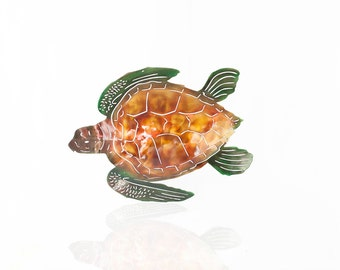 Sea Turtle Wall Art, Metal Wall Art Sea Turtle, Outdoor Art, Beach Decor, Beach House Decor, Patio Decor, Metal Home Decor, Turtle Love