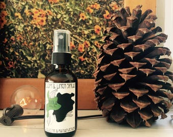 Douglas Fir, Haitian Vetiver -- Room & Linen Spray  -- 2 oz