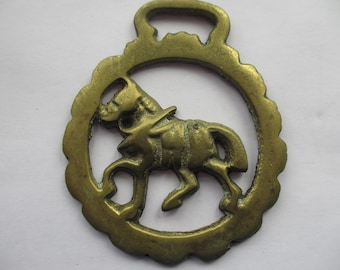 Vintage Horse Brass Shire Horse