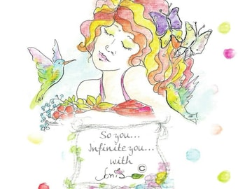 Spritual empowering cards for women