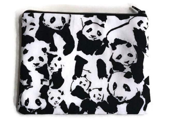 Panda Zipper Notions bag