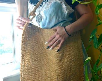 Natural Hand Woven Guatemalan Bag