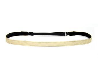 Adjustable Non-Slip Headband Thin Wheat