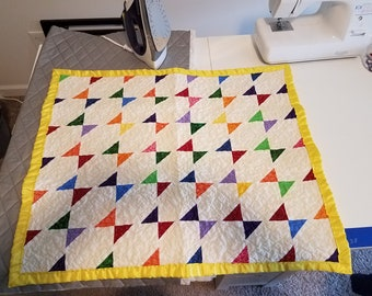 Colorful 38in x 38in Quilt