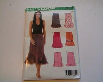 New Look Pattern 6463 Miss Skirt