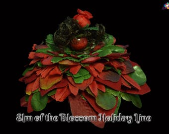 Elm of the Blossom Holiday Line, Fairy, Faerie, OOAK, Doll