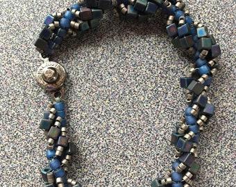 Spiral Stitch bracelet