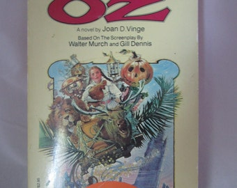 Return to Oz VHS Film and Paperback novel