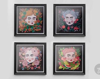 4 SEASONS | Art Prints