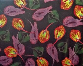 Bright stingray cotton interlock-type fabric 150cm wide, sold per metre