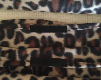 Ferret/Critter Nation Pan and Ladder Covers , 7 Piece Set, Leopard Print