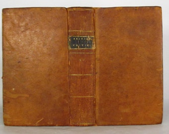 1799- British Critic - Leather bound - Volume XV - RARE