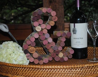 Wine Cork Ampersand  (Symbol for the word AND)